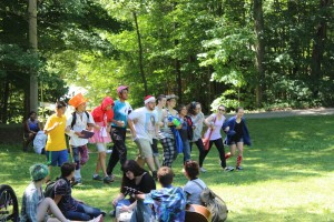 Parade at Odyssey Teen Camp
