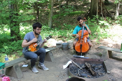 Music at Odyssey Teen Camp