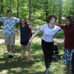 Helping teenagers work through their natural anxieties at teen camp